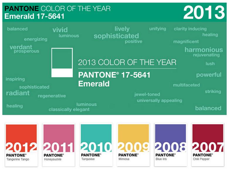 La couleur Pantone de l'année 2013