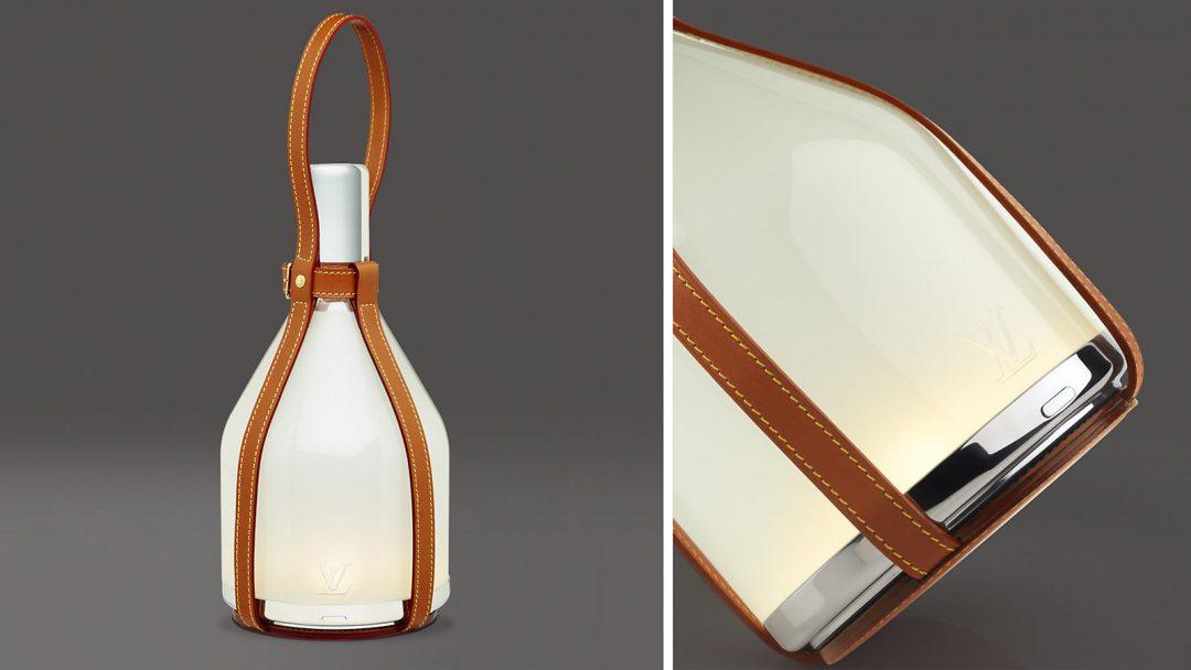 Lampe à poser : Objets Nomades par Louis Vuitton