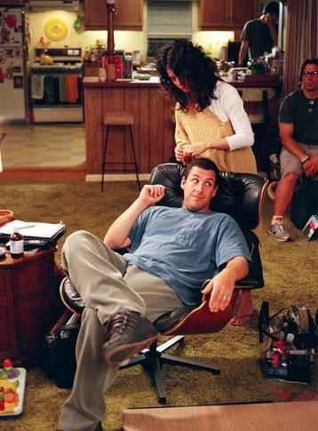 les stars et la lounge chair