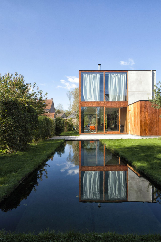 Des maisons design en pleine nature