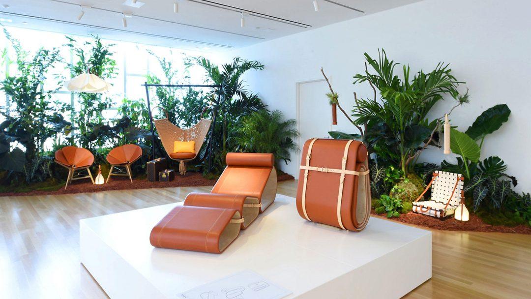 objets nomades par louis vuitton aventure d co. Black Bedroom Furniture Sets. Home Design Ideas