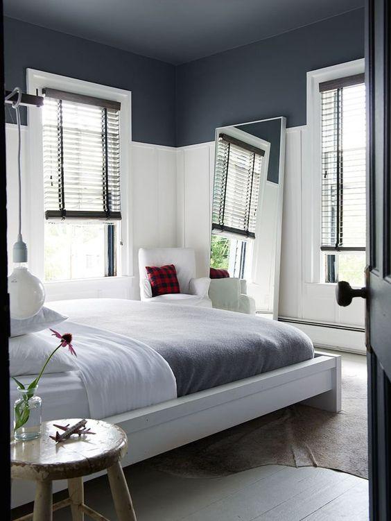 Envie d espace misez sur les couleurs aventure d co - Repeindre une chambre en 2 couleurs ...