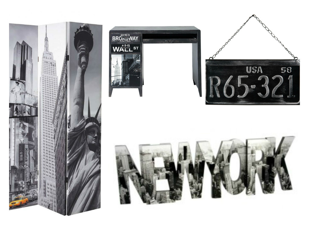 Chambres ados paris new york aventure d co - Deco murale new york ...