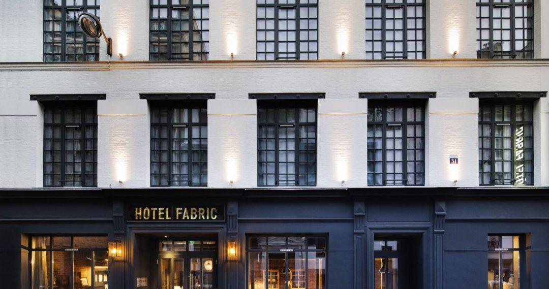 LA façade de l'Hôtel La Fabric Paris