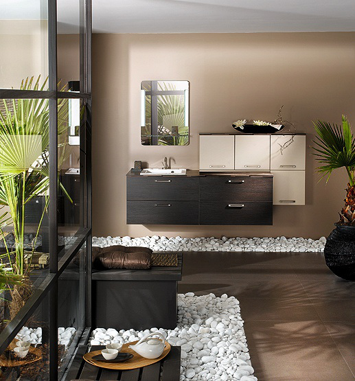 Salle de bain version zen aventure d co - Decoration salle de bain zen ...