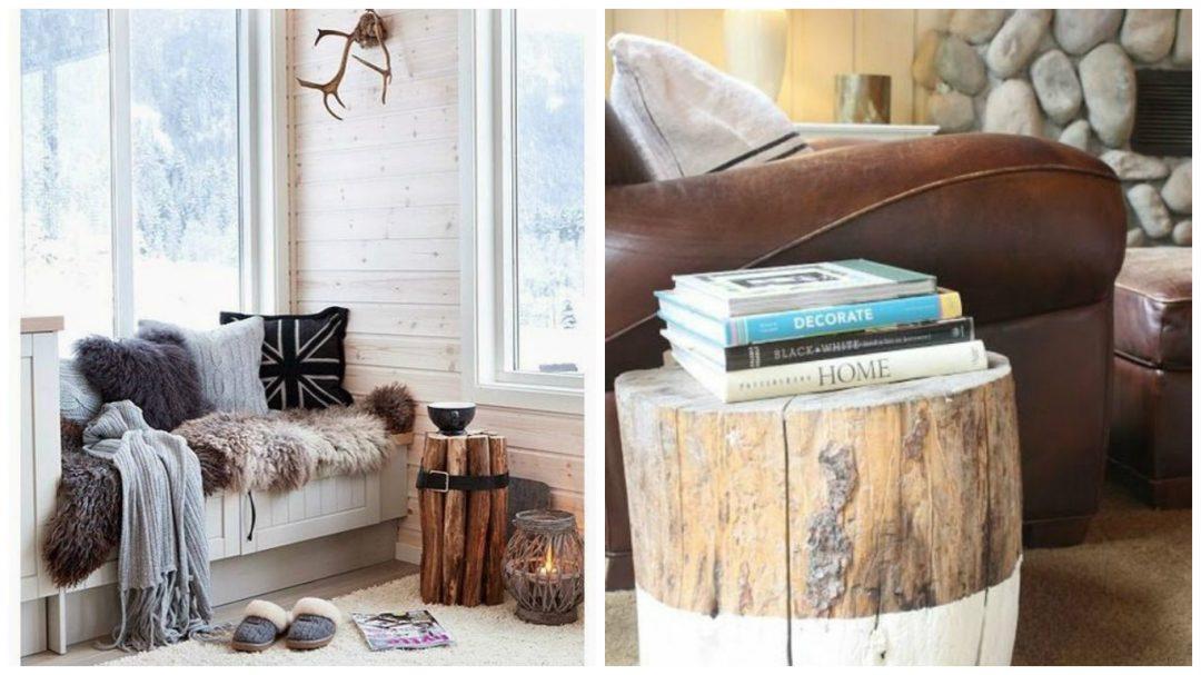 Le rondin de bois dans la d co aventure d co - Petit objet de decoration ...