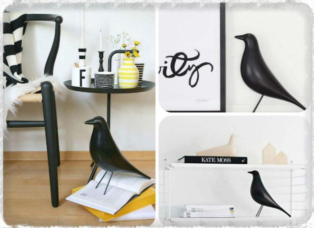 the eames bird aventure d co. Black Bedroom Furniture Sets. Home Design Ideas
