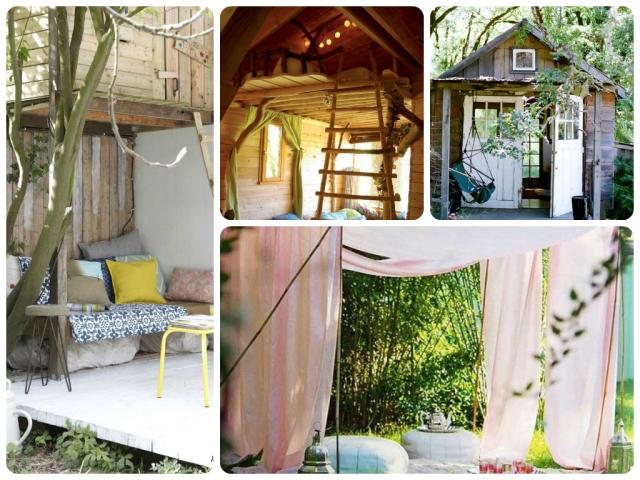 ★ Qui n'a jamais rêvé d'une cabane extérieur dans sa déco…