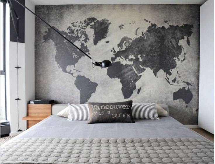 Mappemonde Deco Murale une mappemonde dans votre déco • aventure déco