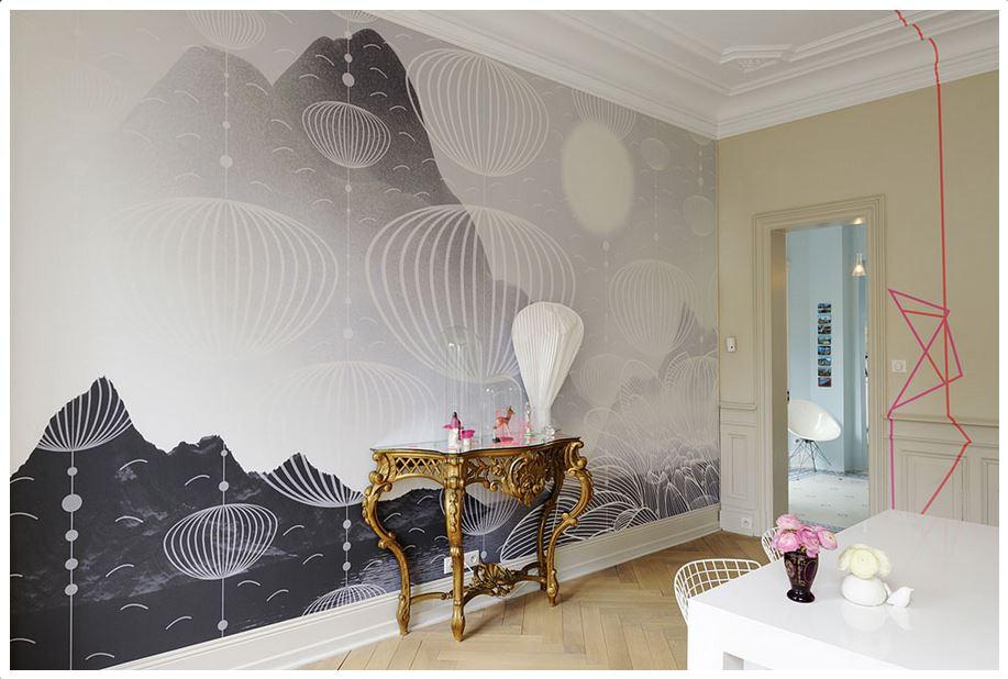 Revêtement mural - Artolis by Bsrrisol  Lampe Vapeur - Moustache