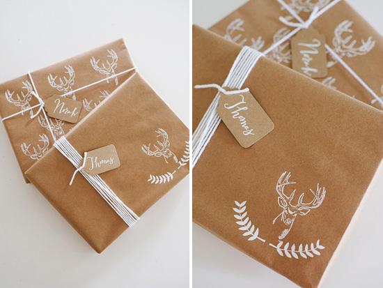 DIY Paquets Cadeaux - Aventure Déco