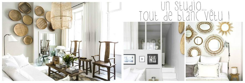 Un studio tout de blanc vêtu !