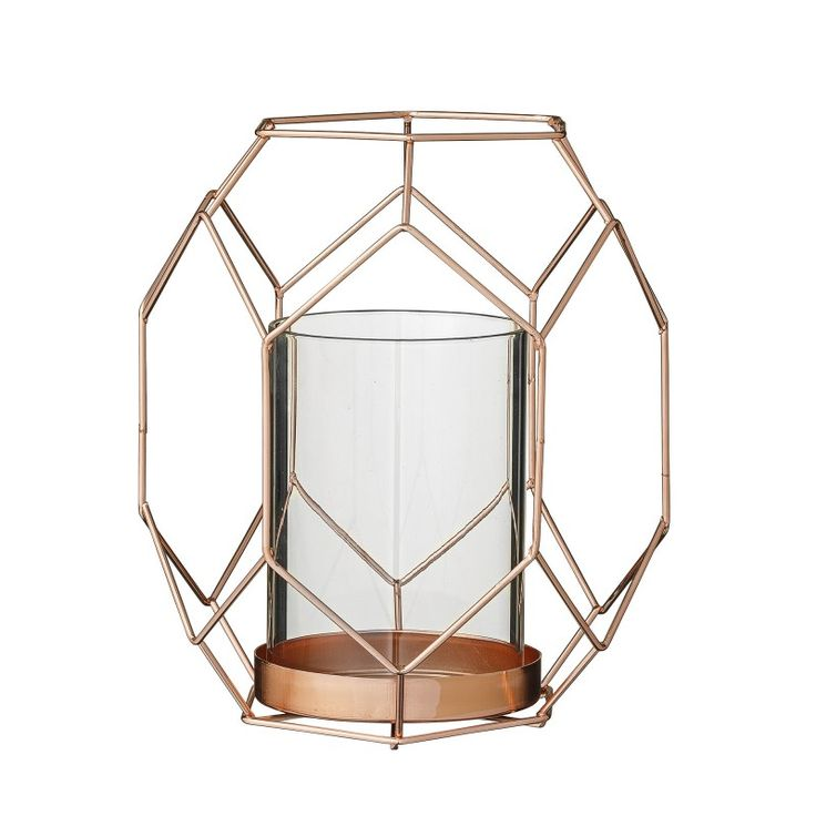 L'Hexagone envahit la déco avec ce bougeoir en cuivre de style scandinave
