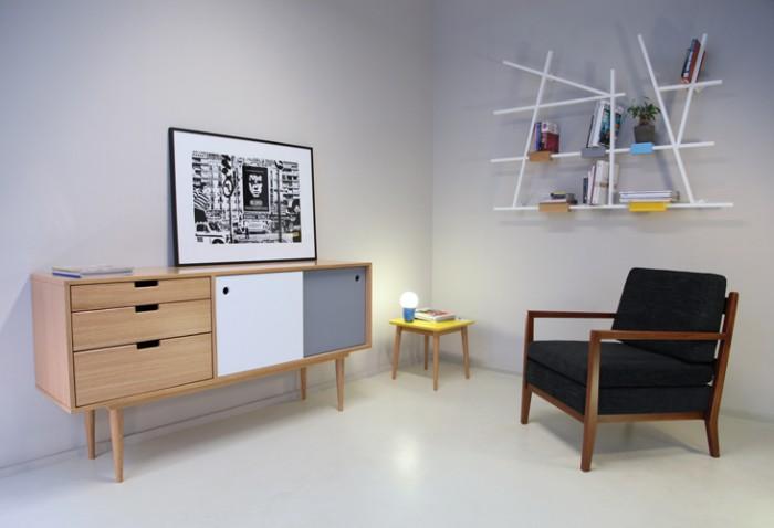 L'étagère Etta de José Pascal