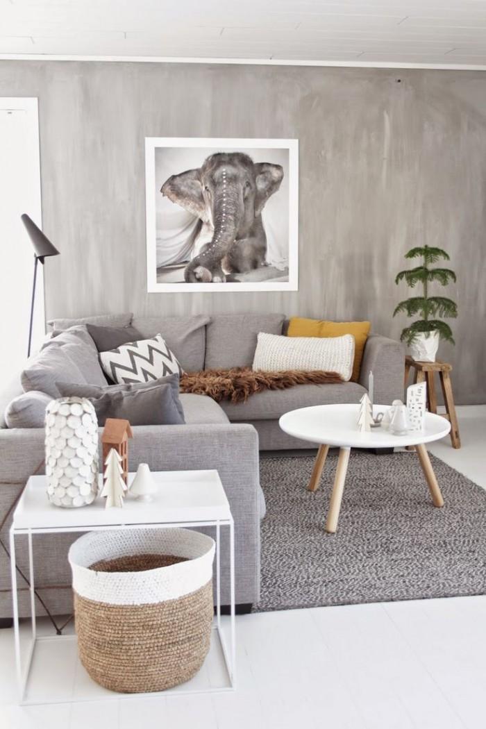 Inspiration pour la décoration de votre séjour