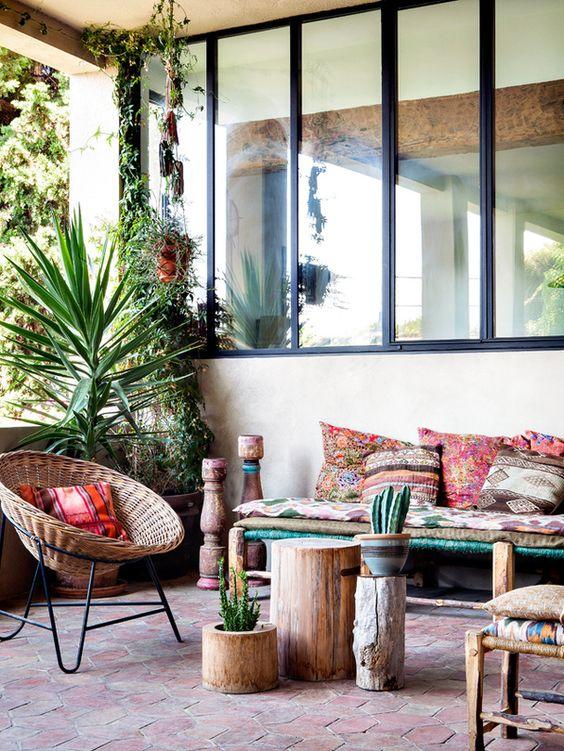 evasion ma terrasse boh me aventure d co. Black Bedroom Furniture Sets. Home Design Ideas