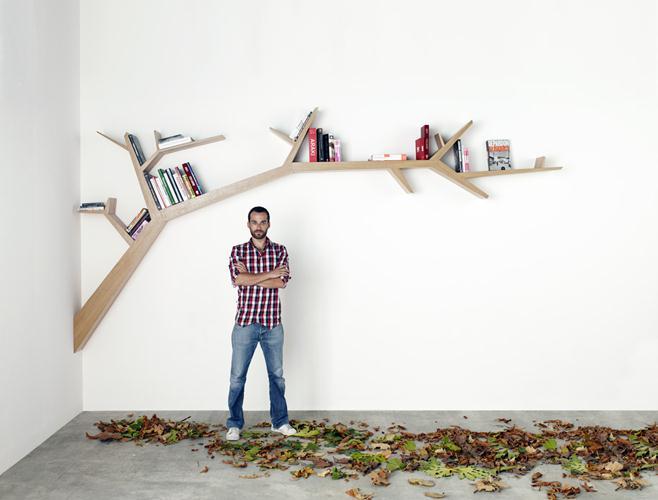 tL'étagère Tree Branch d'Olivier Dollé