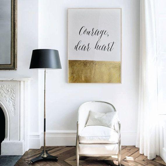 De Jolis Mots Dorés, Déco Au Top Assurée ! • Aventure Déco