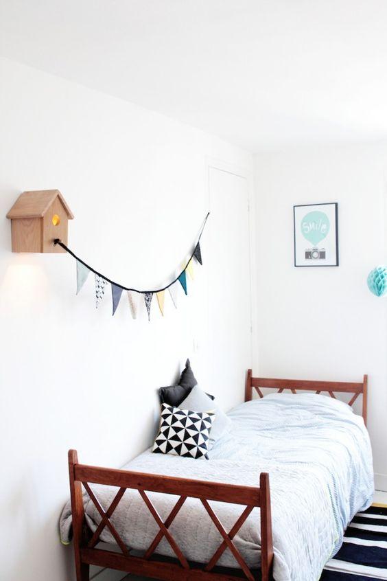 Affiche Mint scandinave pour chambre d'enfant - Seventy Tree