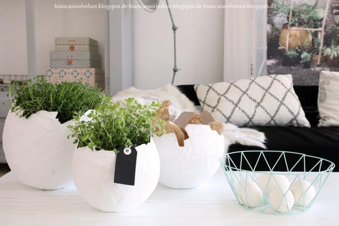 DIY : Vases en platres