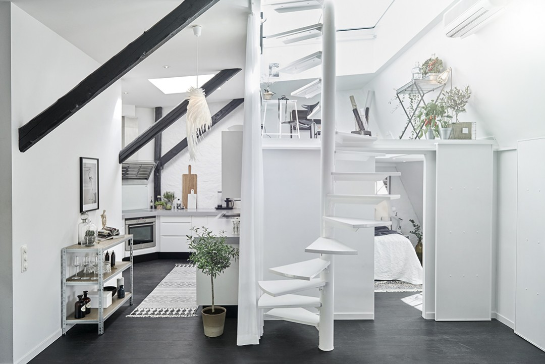 Préférence Un appartement sous les toits • Aventure Déco AB64