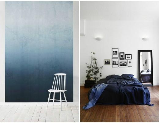 Murs et accessoires indigo pour votre déco