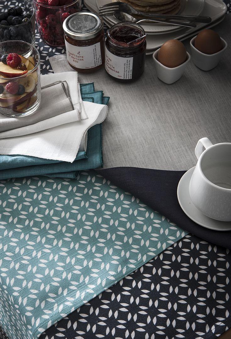 Serviettes Bastilles, serviette de table - Aventure Déco