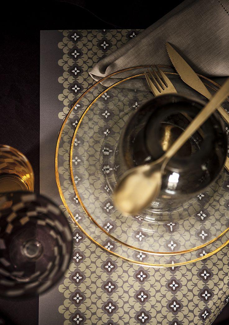 le Carnet de croquis Babylone, set de table - Aventure Déco