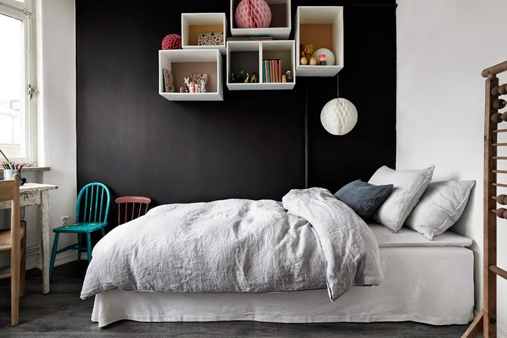 envie d 39 un mur noir dans ma d co aventure d co. Black Bedroom Furniture Sets. Home Design Ideas