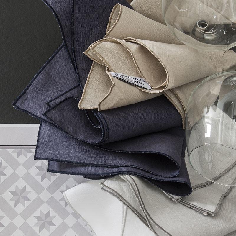 Serviettes Bastilles, serviettes de table - Aventure Déco