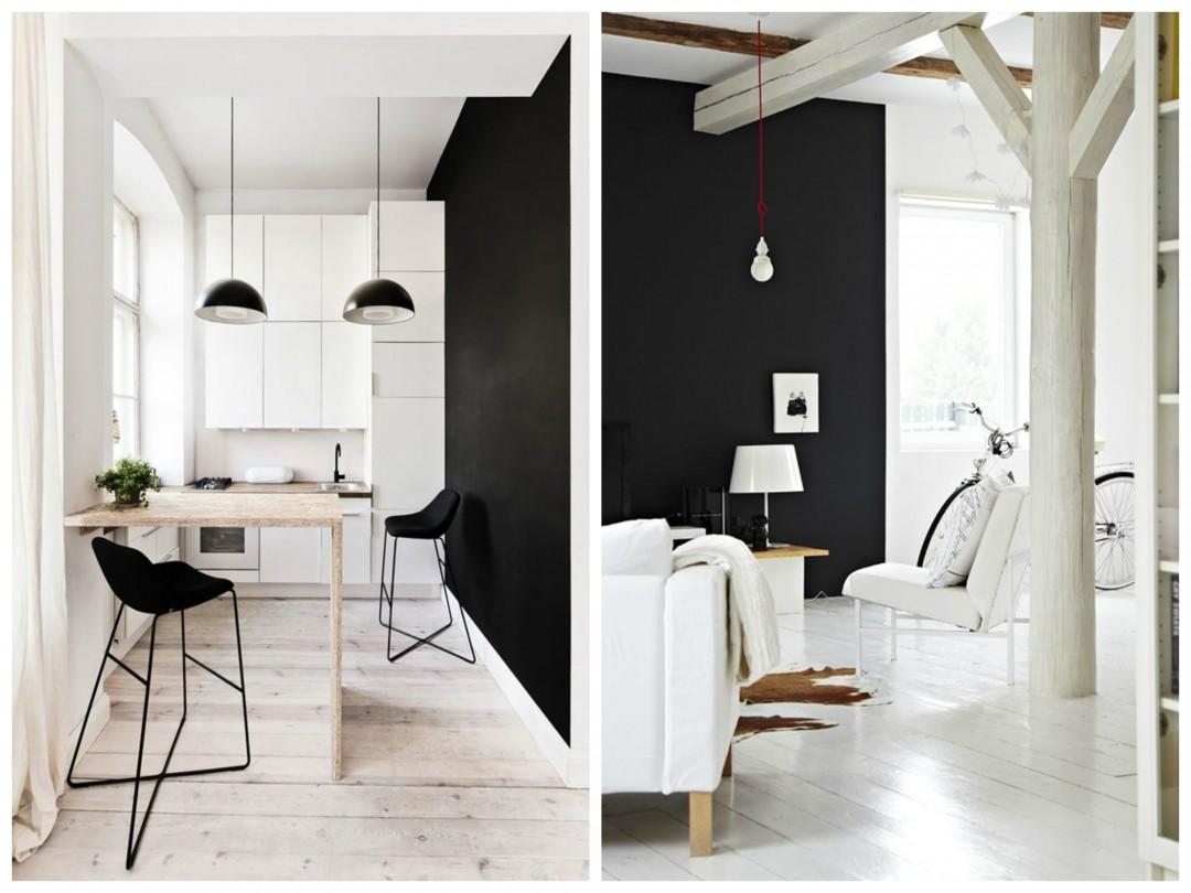 envie d 39 un mur noir dans ma d co aventure d co. Black Bedroom Furniture Sets. Home Design Ideas