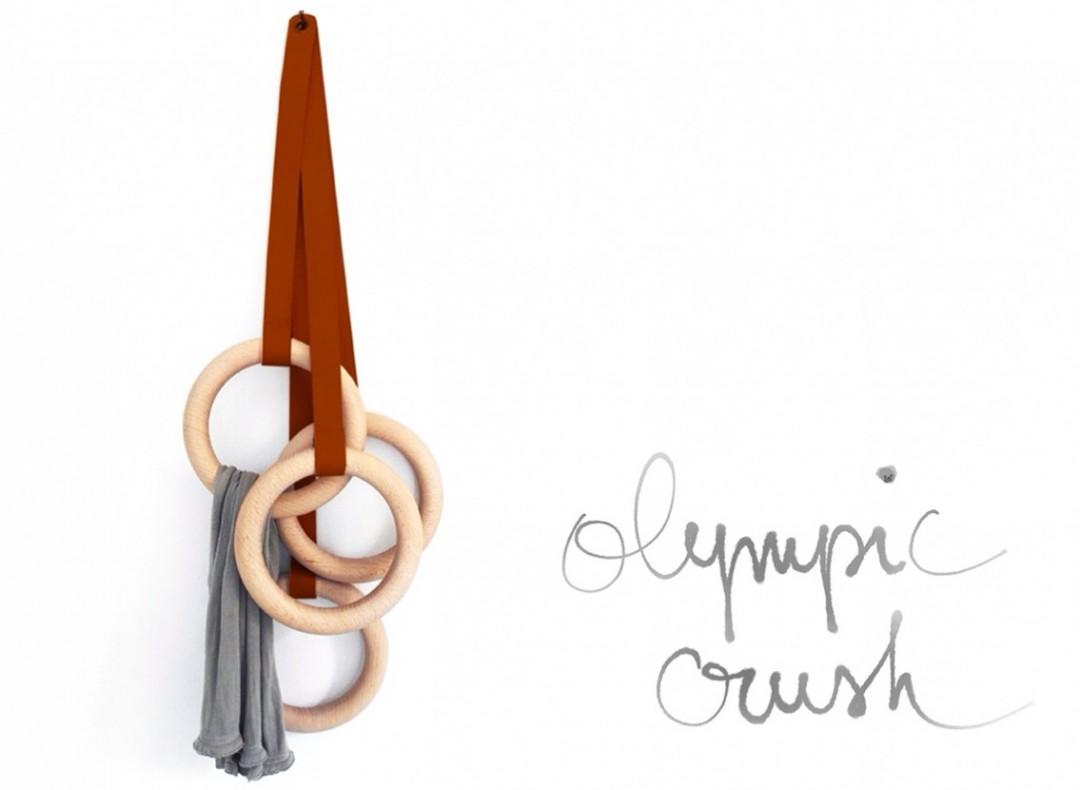 L'indispensable : Les Patères Olympic Vintage de Valérie Windeck