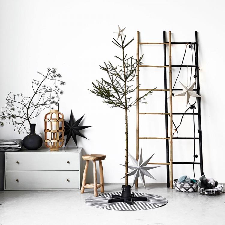 Noël scandinave : Échelles, étoiles et guirlande guinguette - House Doctor