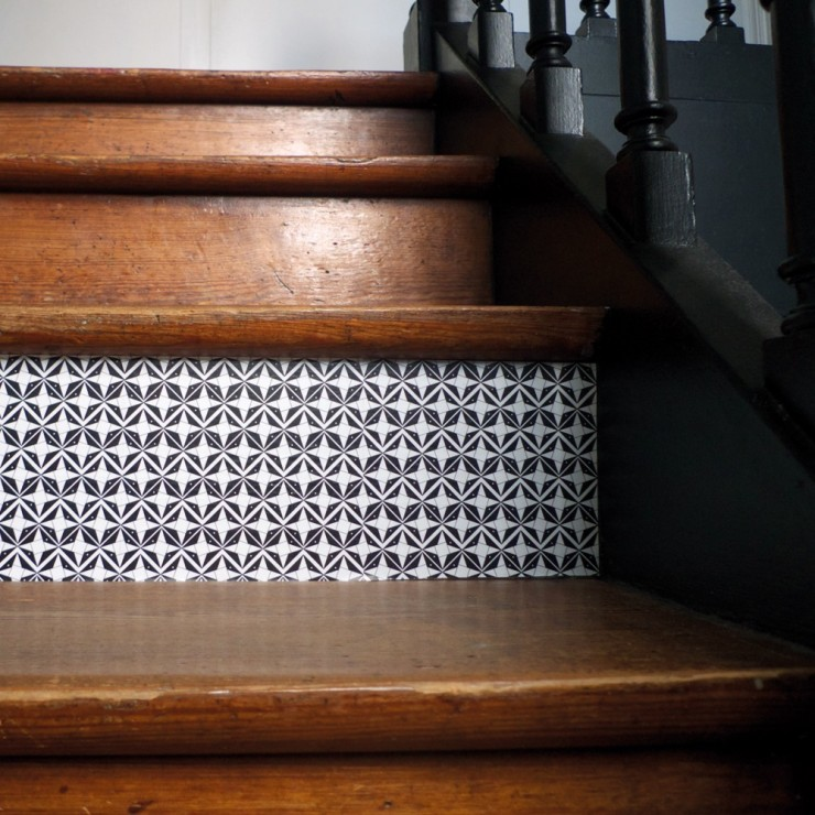Domino by mlle ing aventure d co - Tapis escalier saint maclou ...