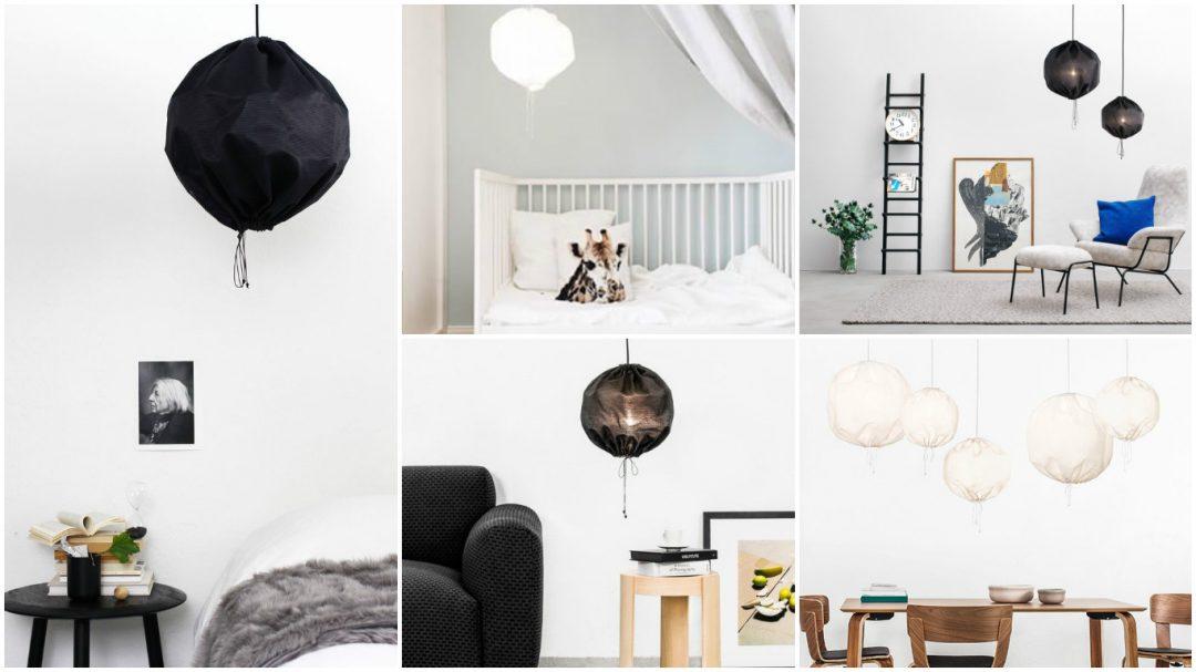 Lampe Kuu designée par Kerstin Sylwan & Jenny Stefansdotter