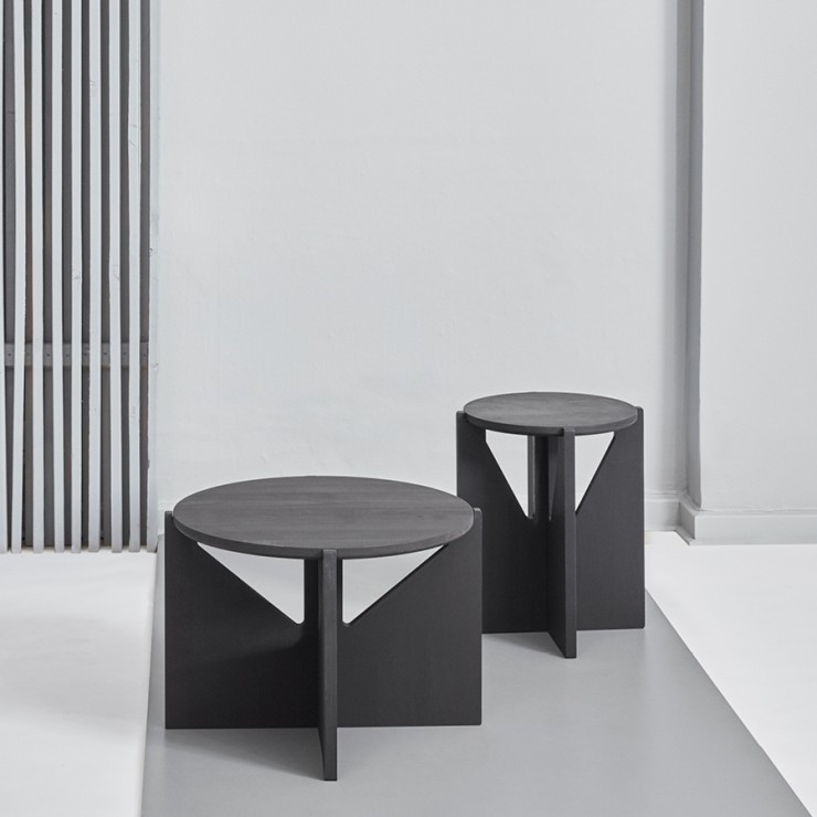 Table et tabouret - Kristina Dam