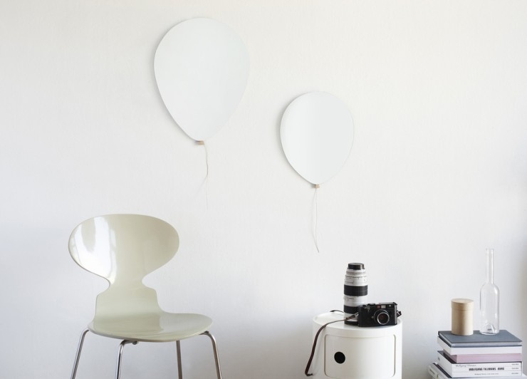 Big balloon mirror - Elements Optimal. Des miroirs en forme de ballon !