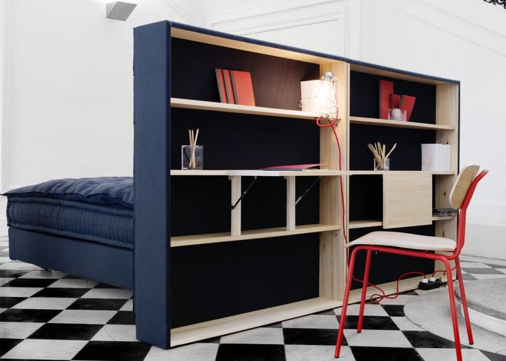 good tete de lit avec rangement fly 3 bureau chambre. Black Bedroom Furniture Sets. Home Design Ideas