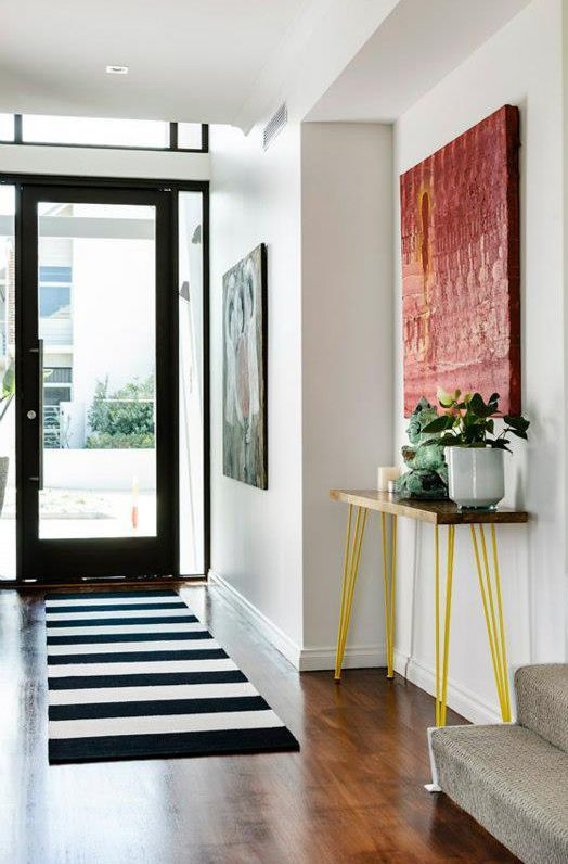 un tapis dans mon entr e aventure d co. Black Bedroom Furniture Sets. Home Design Ideas