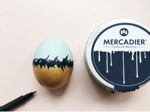 oeuf de paque haut en couleur grace-mercadier-peinture