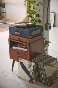 tourne-disque-vintage-chevet-bois