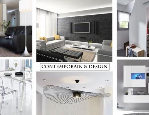 Un séjour contemporain et Design
