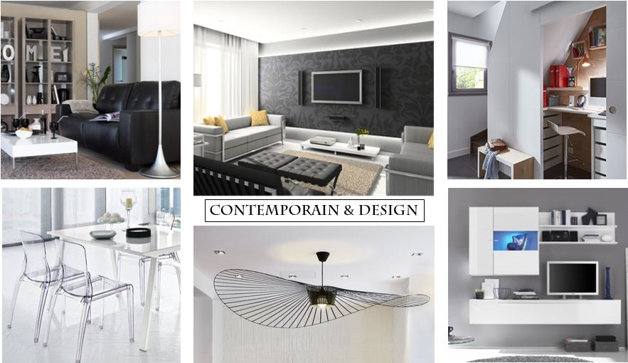 sejour-contemporain-design-planche-tendance-suspension-vertigo-chaise-design-meuble-tele-bureai-salon-teva-deco-home-staging