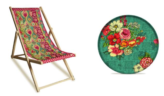 intérieur-gipsy-bohème-assiette-chaise-motifs