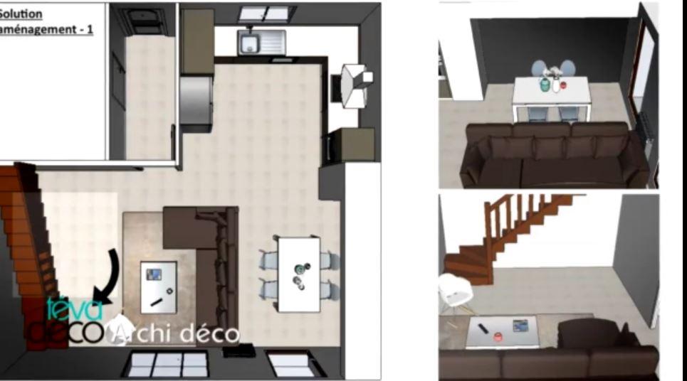 T va d co un duplex contemporain design aventure d co - Deco appartement duplex contemporain ...