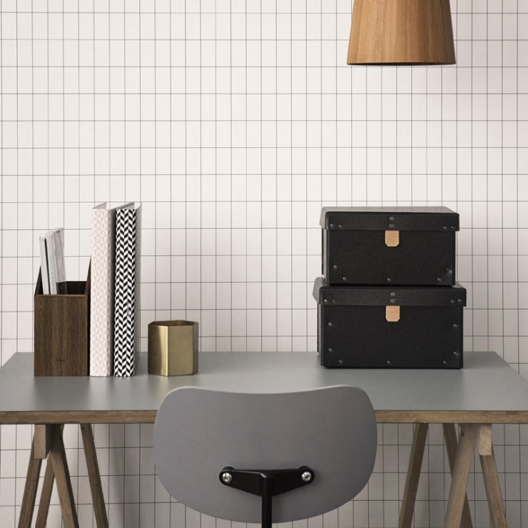 papier-peint-grid-ferm-living-bureau-boite-pot-crayon-traiteau