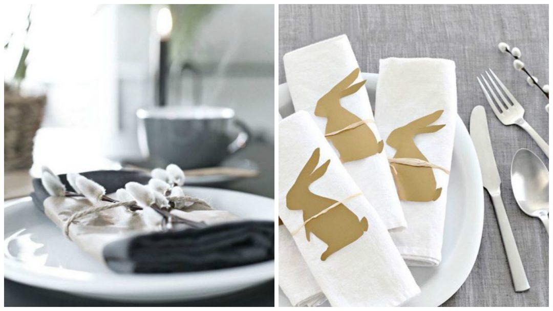 pliage de serviette pour une decoration de table reussit-lapin-tendance-scandinave-art-de-la-table