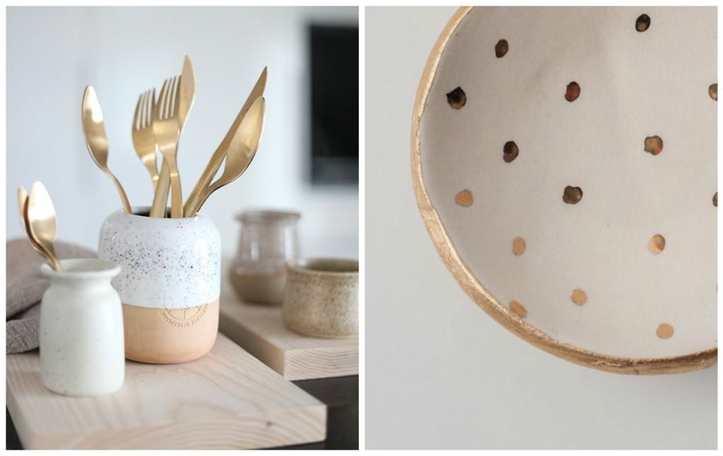 Quand l'or s'empare de l'art de la table…