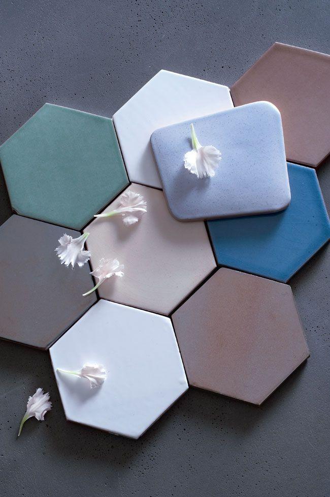 tomettes-colorees-newton-atelier-wiart-dessous-de-plat-hexagone-couleur-pastel