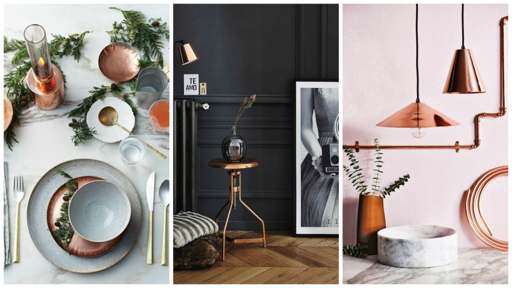 le cuivre l o on ne l 39 attendait pas aventure d co. Black Bedroom Furniture Sets. Home Design Ideas